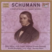 Klára Würtz, Ronald Brautigam, Peter Frankl: Schumann: Complete Solo Piano Works - CD