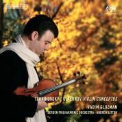 Vadim Gluzman, Bergen Philharmonic Orchestra, Andrew Litton: Tchaikovsky/ Glazunov: Violin Concertos - SACD
