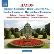 Helmut Muller-Bruhl: Haydn, J.: Trumpet Concerto / Horn Concerto No. 1 / Keyboard Concerto in D Major / Double Concerto in F Major (Bruhl) - CD
