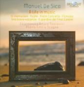 De Sica: In Memoriam, Violin Concerto, Una breve vacanza - CD