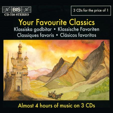 Çeşitli Sanatçılar: Favourite Classics - Baroque, Nordic, General - 3 CD:s for 1 - CD