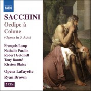 Ryan Brown: Sacchini: Oedipe A Colone - CD