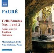 Maria Kliegel: Faure: Cello Sonatas Nos. 1 and 2 / Elegie / Romance - CD
