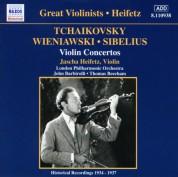 Tchaikovsky / Wieniawski / Sibelius: Violin Concertos (Heifetz) (1935-1937) - CD