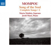 Marta Mathéu: Mompou: Complete Songs, Vol. 1 - CD