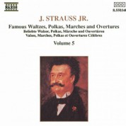 Strauss II: Waltzes, Polkas, Marches and Overtures, Vol. 5 - CD