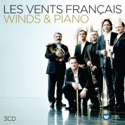 Les Vents Francais, Emmanuel Pahud, Paul Meyer, Francois Leleux, Gilbert Audin, Radovan Vlatkovic, Eric Le Sage: Music For Piano&Wind Ensem - CD