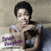 Sarah Vaughan, Clifford Brown: Sarah Vaughan With Clifford Brown (Dexluxe Gatefold Edition. Photographs By William Claxton) - Plak