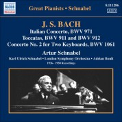 Artur Schnabel: Bach, J.S.: Italian Concerto / Toccatas / Concerto for 2 Keyboards, Bwv 1061 (Schnabel) (1936-1950) - CD