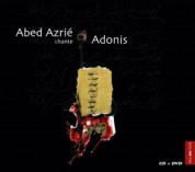 Abed Azrie: Chante Adonis - CD
