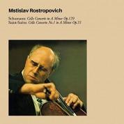 Mstislav Rostropovich: Schumann: Cello Concerto - CD