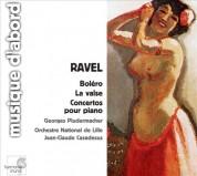Georges Pludermacher, Orchestra National de Lille, Jean-Claude Casadesus: Ravel: Boléro, La Valse, Piano Concertos - CD
