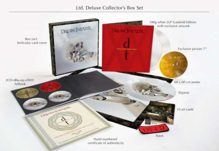 Dream Theater: Distance Over Time (Limited Deluxe Collector's Box Set - White Vinyl) - Plak