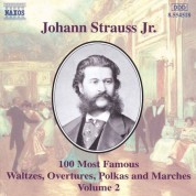 Strauss II: 100 Most Famous Works, Vol.  2 - CD