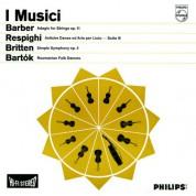 I Musici: Works by Barber / Resphigi / Britten / Bartók - Plak