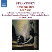 Robert Craft: Stravinsky: Oedipus Rex - Les Noces - CD