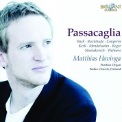 Matthias Havinga: Passacaglia - CD