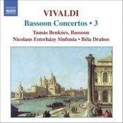 Tamas Benkocs: Vivaldi: Bassoon Concertos (Complete), Vol. 3 - CD