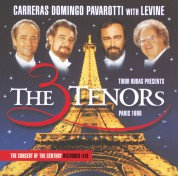 James Levine, José Carreras, Luciano Pavarotti, Plácido Domingo: Carreras Domingo Pavarotti - The Three Tenors, Paris 98 - CD