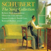 Robert Holl, Ellen van Lier, Naum Grubert, David Lutz, Konrad Richter: Schubert: The Song Collection - CD