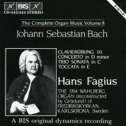 Hans Fagius: J.S. Bach: Complete Organ Music, Vol.8, Clavierübung III - CD