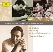 Berliner Philharmoniker, Claudio Abbado, Gil Shaham, Jian Wang: Brahms: Violinkonzert, Doppelkonz - CD