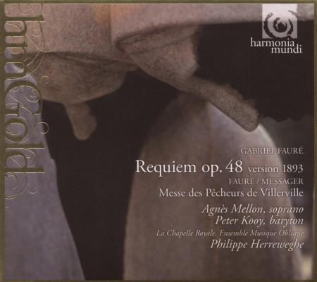 La Chapelle Royale, Ensemble Musique Oblique, Philippe Herreweghe: Faure: Requiem, original version (1893) - CD