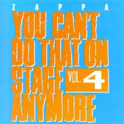 Frank Zappa: You Can't Do That On Stage Anymore Vol. 4 - CD