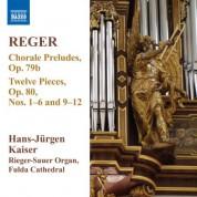 Hans-Jurgen Kaiser: Reger: 12 Pieces, Op. 80, Nos. 1-6 & 9-12 - 13 Chorale Preludes, Op. 79b - CD