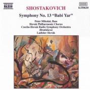 Shostakovich: Symphony No. 13, 'Babi Yar' - CD