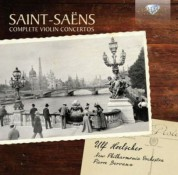 Ulf Hoelscher, New Philharmonia Orchestra, Pierre Dervaux: Saint-Saens: Complete Violin Concertos - CD