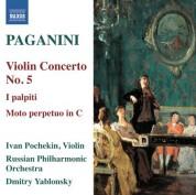 Ivan Pochekin: Paganini: Violin Concerto No. 5 - I palpiti - CD
