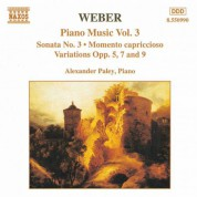 Weber: Piano Music, Vol. 3 - CD