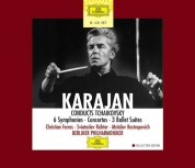 Berliner Philharmoniker, Christian Ferras, Herbert von Karajan, Mstislav Rostropovich, Sviatoslav Richter: Tchaikovsky: 6 Symphonien, Concertos - CD