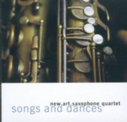 New Art Saxophone Quartet: Songs And Dances - CD