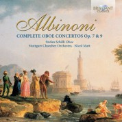Stefan Schilli, Stuttgart Chamber Orchestra, Nicol Matt: Albinoni: Complete Oboe Concertos - CD