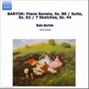 Jeno Jando: Bartok: Piano Music, Vol. 1: Suite for Piano - 7 Sketches - Piano Sonata - CD