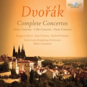 Ruggiero Ricci, Zara Nelsova, Rudolf Firkušný, Saint Louis Symphony Orchestra, Walter Susskind: Dvoràk: Complete Concertos - CD