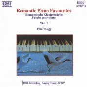 Péter Nagy: Romantic Piano Favourites, Vol.  7 - CD