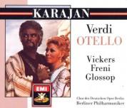 Jon Vickers, Mirella Freni, Peter Glossop, Berliner Philharmoniker, Herbert von Karajan: Verdi: Otello - CD