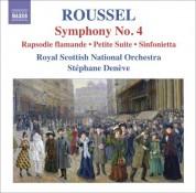 Stéphane Denève: Roussel: Symphony No. 4 - CD