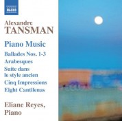 Eliane Reyes: Tansman: Piano Music - CD