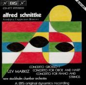Lev Markiz, New Stockholm Chamber Orchestra: Schnittke - Concerto Grosso I - CD