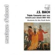 Akademie für Alte Musik Berlin: J.S. Bach: Triple Concerto BWV 1044 - CD