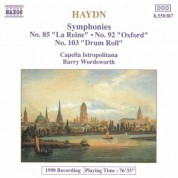 Haydn: Symphonies, Vol.  5 (Nos. 85, 92, 103) - CD