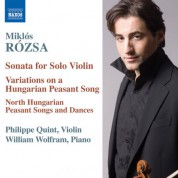 Rozsa: Music for Violin and Piano - CD