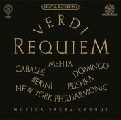 Montserrat Caballé, Plácido Domingo, Zubin Mehta, New York Philharmonic Orchestra: Verdi: Requiem - CD