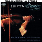 Nathan Milstein: Masterpieces for Violin and Orchestra (200 g) - Plak
