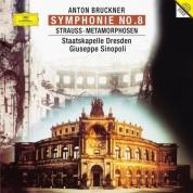 Giuseppe Sinopoli: Bruckner: Symphony 8, Strauss: Metamorphosen - Plak