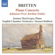 Britten: Piano Concerto / Johnson Over Jordan Suite - CD